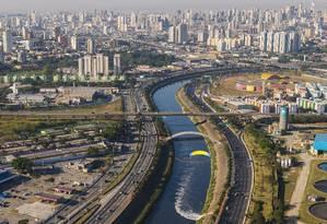 Foto: Marginal Tietê em São Paulo / Leandro Saadi/Agência O Globo