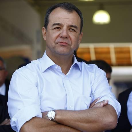 Ex-governador Sérgio Cabral é denunciado por improbidade administrativa pelo MP Foto: Pablo Jacob