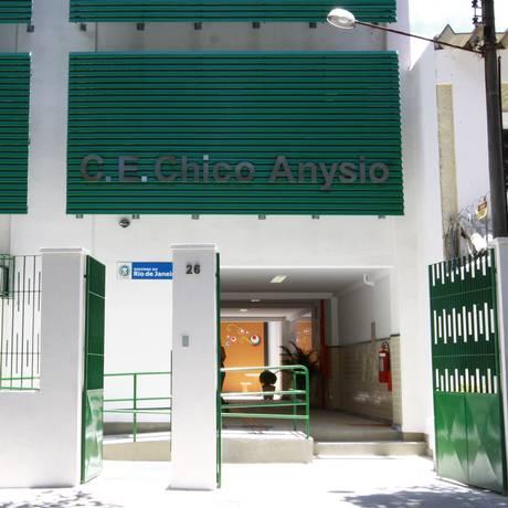 Colégio Estadual Chico Anysio, no Andaraí, está entre as unidades que terão ofertas de vagas para o Ensino Médio Foto: Marcia Costa
