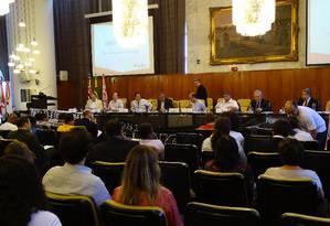 Audiência pública na Câmara de SP em 2015 Foto: Luiz França/ CMSP / 05/11/2015