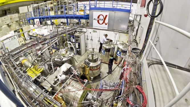 Armadilha onde os cientistas capturam e aprisionam átomos de anti-hirogênio Foto: Divulgação