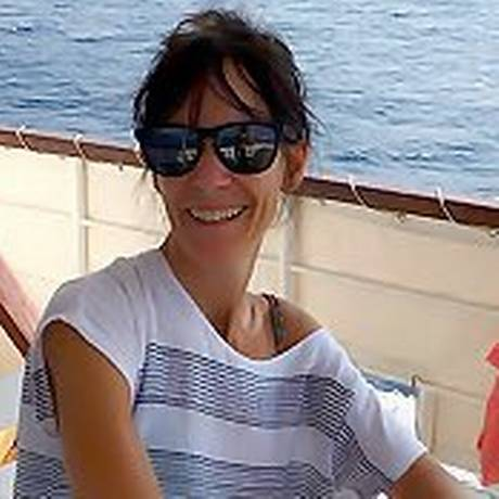 Rachel Owen, ex-mulher de Thom Yorke, do Radiohead Foto: Acervo Pembroke College