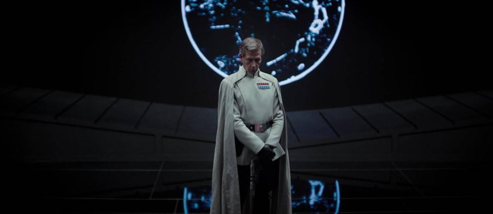 Ben Mendelsson em 'Rogue One: Uma história Star Wars' Foto: Reprodução