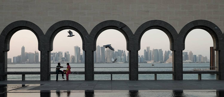 Doha, no Qatar é um dos destinos Foto: Bonnie Jo Mount/Washington Post