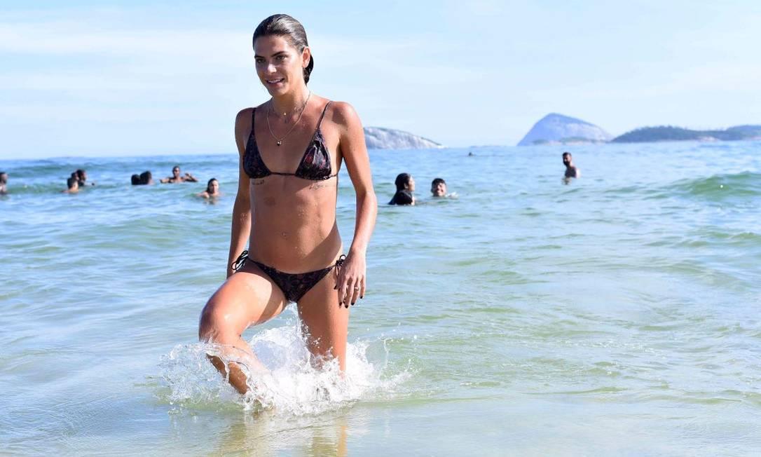 Mariana: a nova garota de Ipanema... Divulgação