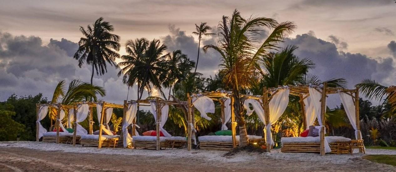 Cafe de La Musique, na Reserva Pratagy, em Maceió, Alagoas, terá programação especial para o réveillon 2017 Foto: Divulgação