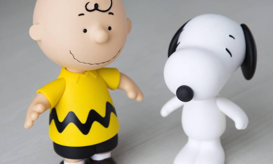 """PERSONAGENS: """"Na casa da minha mãe, tinha um Snoopy em miniatura. Quando vi os bonecos, me apaixonei"""" Mônica Imbuzeiro / Agência O Globo"""