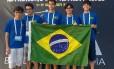 Os cinco estudantes brasileiros que trouxeram uma medalha por equipe da Olimpíada Internacional de Astronomia e Astrofísica