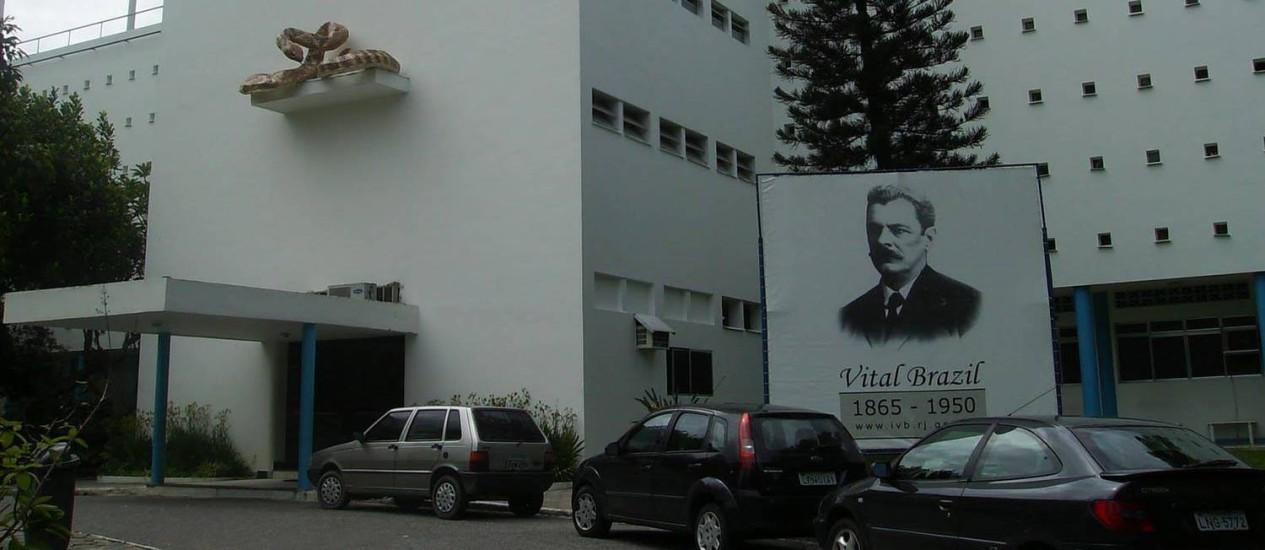 Instituto Vital Brazil, que produz o medicamento: 86.450 comprimidos desapareceram Foto: Letícia Pontual - 14/04/2009 / Agência O Globo