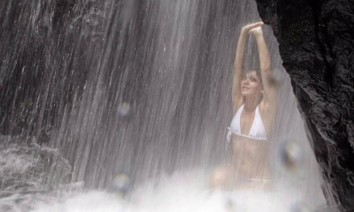 Cachoeira do Chuveiro Foto: Custódio Coimbra / Agência O Globo