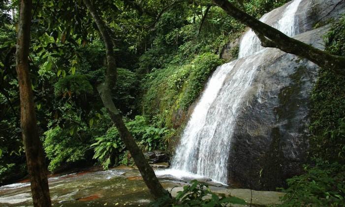 Cachoeira dos Primatas Foto: William de Moura / Agência O Globo