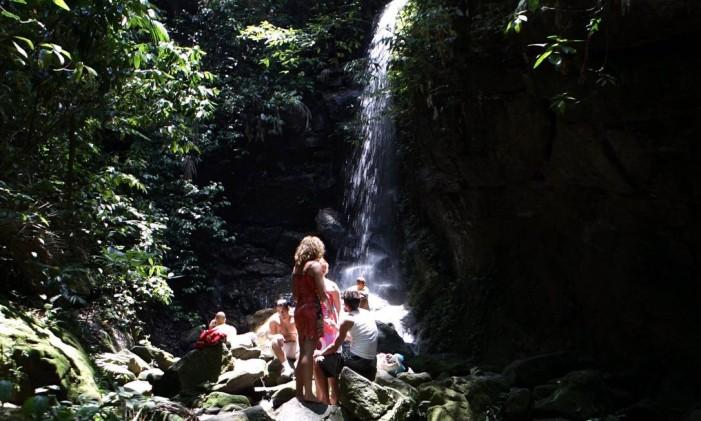 Cachoeira das Almas. Foto: Hudson Pontes / Agência O Globo