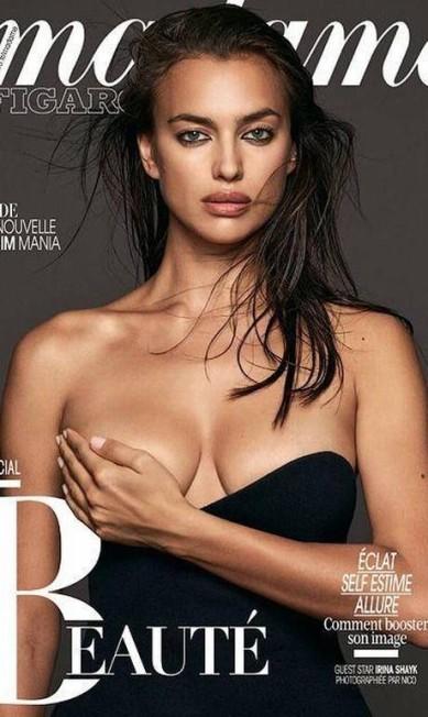 """Ainda em outubro, a russa estrelou capas para a """"Madame Figaro"""" Divulgação"""