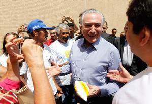 Em Maceió, Temer anuncia investimentos de R$ 756 milhões contra a seca Foto: Divulgação