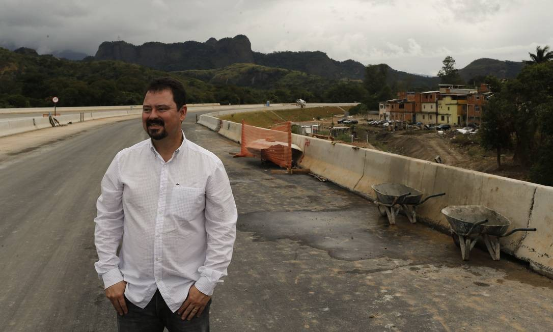 Secretário Municipal de Obras Alexandre Pinto pede exoneração Foto: Gabriel de Paiva / Agência O Globo
