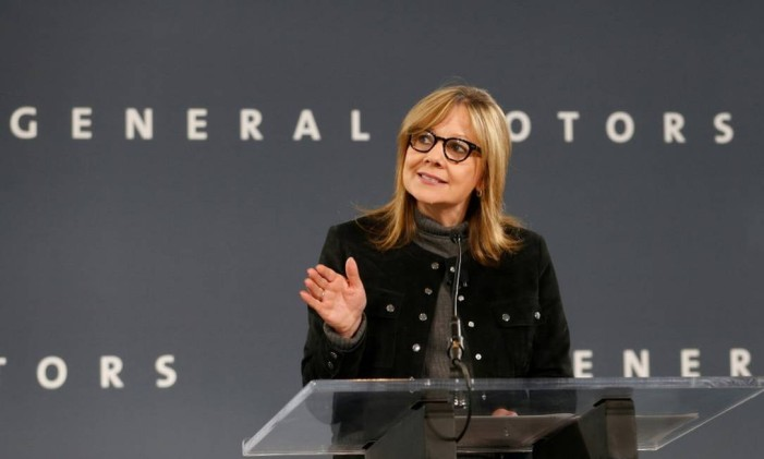 CEO da General Motors, Mary Barra Foto: Rebecca Cook / Reuters