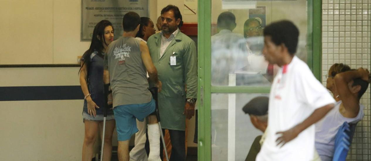 Servidores de hospitais estaduais vão receber nesta quinta-feira Foto: Gabriel de Paiva / Agência O Globo
