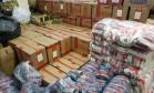 Até a noite desta quarta-feira, foram doadas 2.576 cestas básicas Foto: Divulgação
