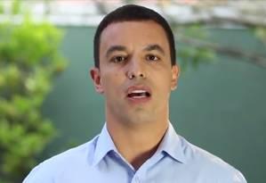 O prefeito eleito de Osasco Rogério Lins (PTN) Foto: Reprodução TV