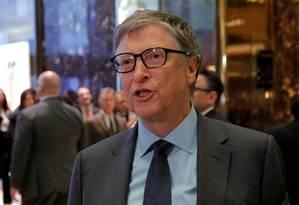 Bill Gates acredita que a única maneira de driblar o risco de doenças se espalharem é uma forte cooperação global Foto: ANDREW KELLY / REUTERS