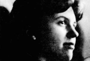 A escritora americana Sylvia Plath Foto: Reprodução