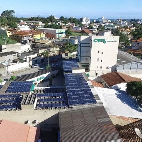 Escola CEM, em Araruama, onde a Enel Soluções desenvolveu projeto Foto: Divulgação/Enel soluções