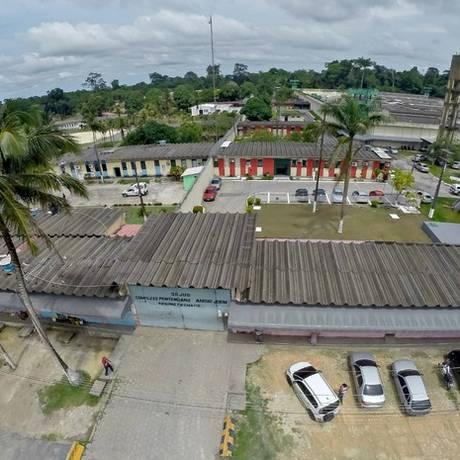 O Complexo Penitenciário Anísio Jobim (Compaj), em Manaus Foto: Divulgação/Seap