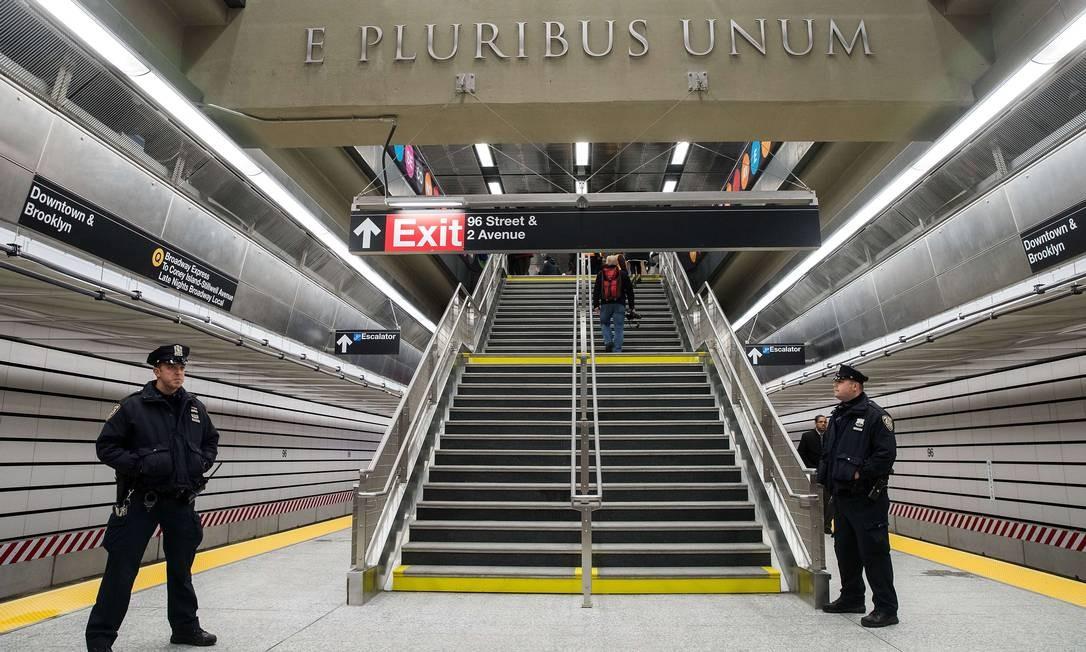 O projeto original do metrô da Segunda Avenida é de 1929, mas foi adiado diversas vezes por causa de crises econômicas ao longo do século passado Foto: Drew Angerer / AFP