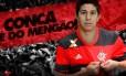 Conca foi anunciado pelo Flamengo