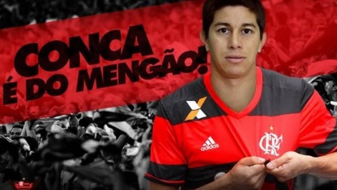 21fec7b289 Flamengo anuncia contratação de Conca - Jornal O Globo