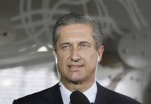 O deputado federal Rogério Rosso (PSD-DF), durante entrevista. Foto: Givaldo Barbosa / Agência O Globo