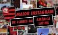 Flamengo comemora o fato de ser recordista no Instagram