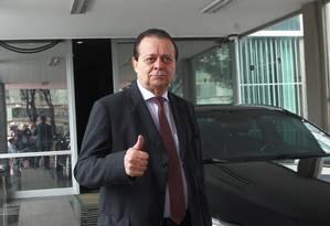 Jovair Arantes nega que seja candidato de grupo ligado a Cunha Foto: Givaldo Barbosa / Agência O Globo