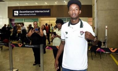 Orejuela é um dos reforços estrangeiros do Fluminense para 2017 Foto: Divulgação