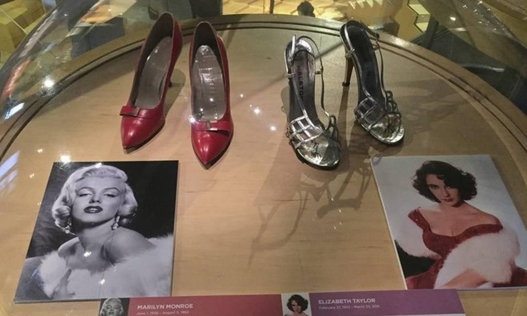 Sapatos de Marilyn Monroe e Elizabeth Taylor estão entre os expostos no Bata Shoes, museu dedicado aos calçados, um dos destaques de Toronto Foto: Marta Beck / O Globo