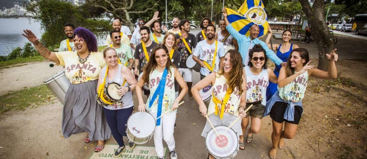 Os ensaios do Spanta Neném já começaram no Rio. Foto: Bárbara Lopes / Agência O Globo