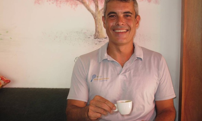 """Marcus Fonseca: """"Quero tornar o tênis mais acessível e popular"""" Foto: Mauro Ventura / O GLOBO"""