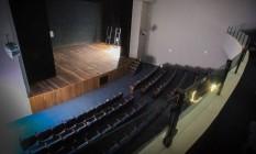 A parte interna do teatro, que recebeu o nome de Carequinha Foto: Thiago Louza / Divulgação/Thiago Louza