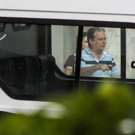 Nelson Nahim ao ser preso em 2014 Foto: Carlos Grevi / Site Ururau