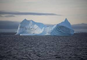 Juan Garcés de Marcill, diretor do Copernicus, alerta que o planeta já está sofrendo os impactos da mudança no clima Foto: EITAN ABRAMOVICH / AFP