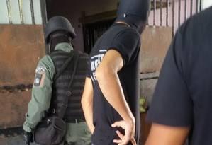 Sangue no chão da Penitenciária Agrícola Monte Cristo, em Roraima Foto: Divulgação/Sindicato dos Agentes Penitenciários de Roraima