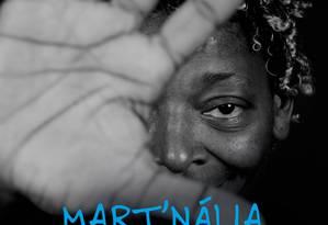 Foto da capa de '+ Misturado', da cantora Mart'nália Foto: Reprodução