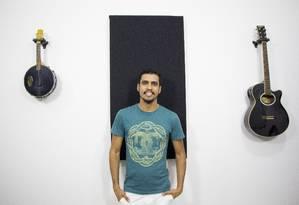 Oportunidade. Felipe Fafá de Carvalho, de 26 anos, recebeu indenização de R$ 200 mil e pretende usar parte do dinheiro numa empresa de marketing digital Foto: Divulgação