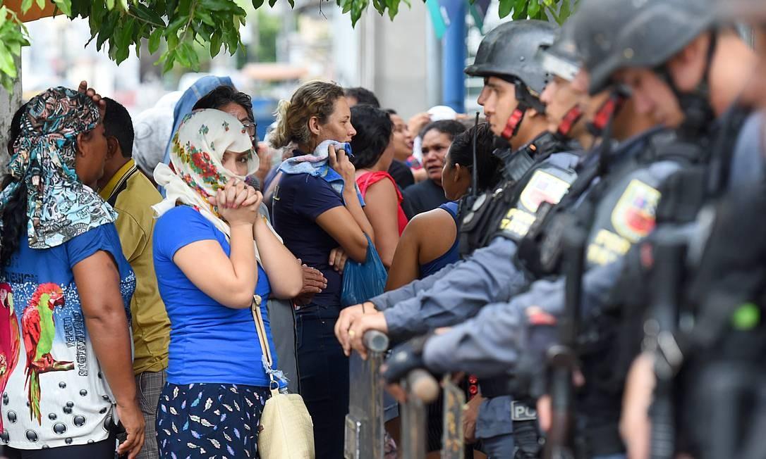 Cinco detentos morreram, mas, em recontagem dos presos após o motim, já controlado, os policiais ainda constataram que cinco criminosos estão desaparecidos Foto: Chico Batata