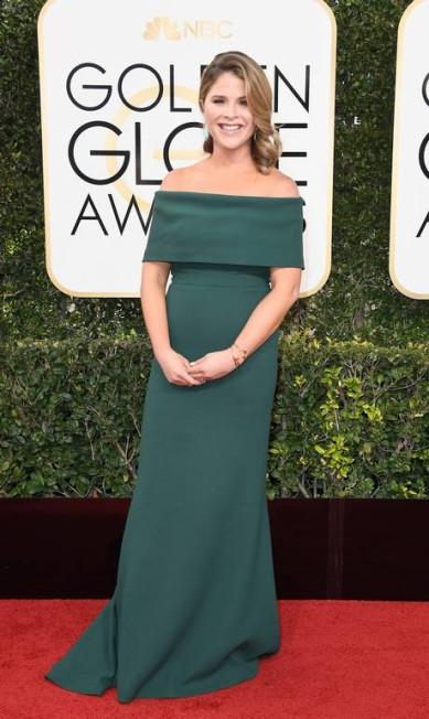 A personalidade da TV americana Jenna Bush Hager, filha do ex-presidente dos EUA George W. Bush Frazer Harrison / AFP