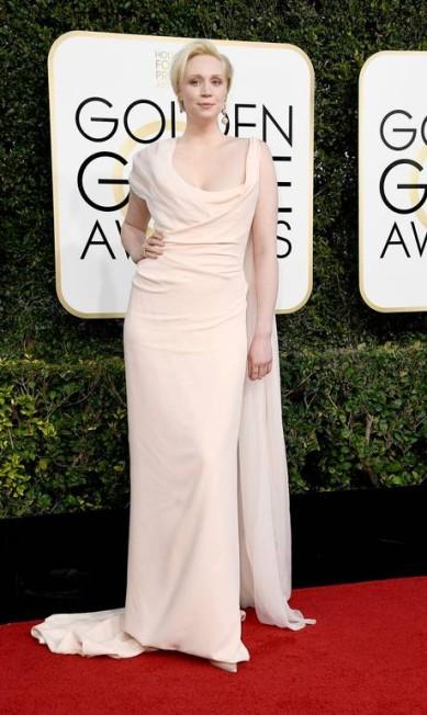 A atriz Gwendoline Christie, de 'Game of Thrones' Frazer Harrison / AFP