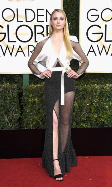 A atriz de 'Game of Thrones' Sophie Turner Frazer Harrison / AFP