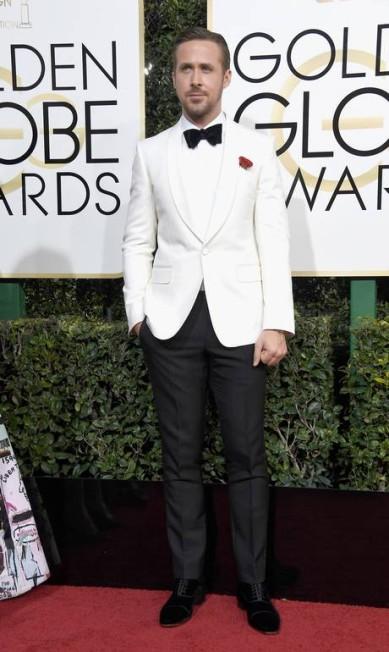 O ator Ryan Gosling Frazer Harrison / AFP