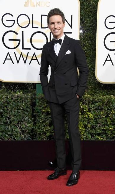 O ator Eddie Redmayne Frazer Harrison / AFP
