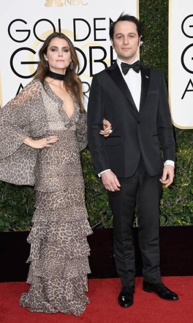 As estrelas da série 'The americans', Keri Russell e Matthew Rhys Frazer Harrison / AFP